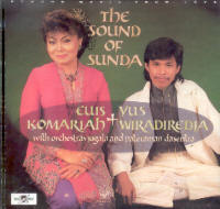 "EUIS KOMARIAH & YUS WIRADIREDJA ""THE SOUND OF SUNDA"" (CD)"