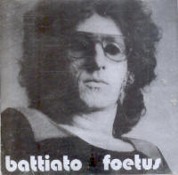 "BATTIATO, FRANCO ""FOETUS (ENGLISH VERSION)"" (CD)"
