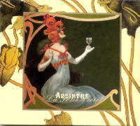 "BLOOD AXIS & LES JOYAUX DE LA PRINCESSE ""ABSINTHE/LA FOLIE VERTE"" (CD)"