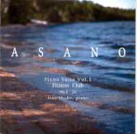 "ASANO, KOJI ""PIANO SUITE, VOL. 1/FITNESS CLUB Nº 1-20"" (CD)"