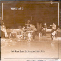 "ISILDUR'S BANE & METAMORFOSI TRIO ""MIND, VOL. 3"" (CD)"