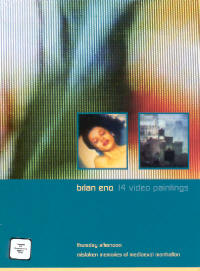 "ENO, BRIAN ""14 VIDEO PAINTINGS"" (DVD)"