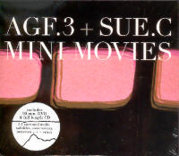"AGF 3 & SUE C ""MINI MOVIES"" (CD+DVD)"