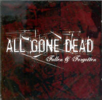 "ALL GONE DEAD ""FALLEN & FORGOTTEN"" (CD)"