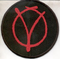 "V FOR VENDETTA ""P-05"" (PATCH)"