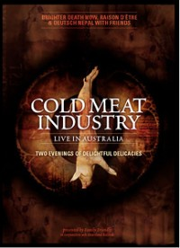 "V/A ""COLD MEAT INDUSTRY LIVE IN AUSTRALIA"" (DVD)"