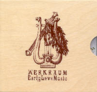 "WERKRAUM ""EARLY LOVE MUSIC (BOX)"" (BOX (ED. LIM.))"