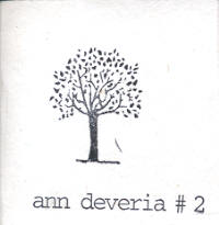 "ANN DEVERIA - #2 (3""CD-R (ED. LIM.))"