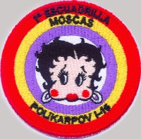 "1ª ESCUADRILLA MOSCAS SPANISH CIVIL WAR ""P-30"" (PATCH)"