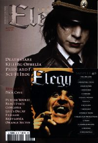 "ELEGY ""Nº 1 (SPANISH EDITION)"" (MAGAZINE+CD)"
