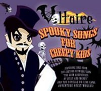 "VOLTAIRE ""SPOOKY SONGS FOR CREEPY KIDS"" (CD)"