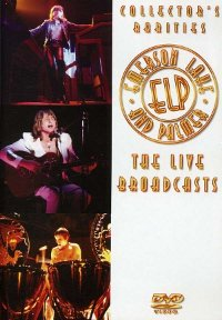 "EMERSON, LAKE & PALMER ""LIVE BROADCASTS"" (DVD)"