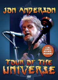 "ANDERSON, JON ""TOUR OF THE UNIVERSE"" (DVD)"