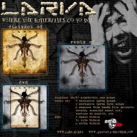 "LARVA ""WHERE THE BUTTERFLIES GO TO DIE + REMIX CD + DVD"" (2CD+DVD (ED. LIM.))"