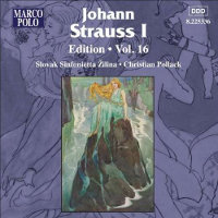 STRAUSS, JOHANN - EDITION, VOL. 16 (CD)