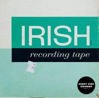 "AGENT SIDE GRINDER ""IRISH RECORDING TAPE"" (LP (ED. LIM.))"