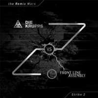 "DIE KRUPPS/FRONT LINE ASSEMBLY ""THE REMIX WARS: STRIKE 2 (BLACK)"" (LP (ED. LIM.))"