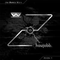 "WUMPSCUT/HAUJOBB ""THE REMIX WARS: STRIKE 1 (BLACK)"" (LP (ED. LIM.))"