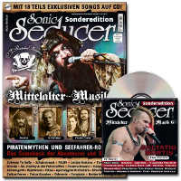 "SONIC SEDUCER ""MEDIEVAL MUSIC SPECIAL ISSUE 6"" (MAGAZINE+CD)"