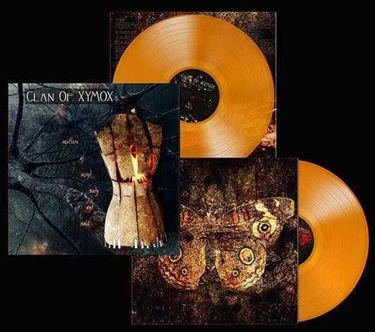CLAN OF XYMOX - MATTERS OF MIND, BODY AND SOUL (ORANGE)(LP (ED. LIM.))