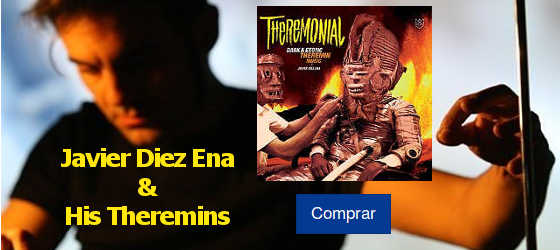 DIEZ ENA, JAVIER & HIS THEREMINS - THEREMONIAL LP
