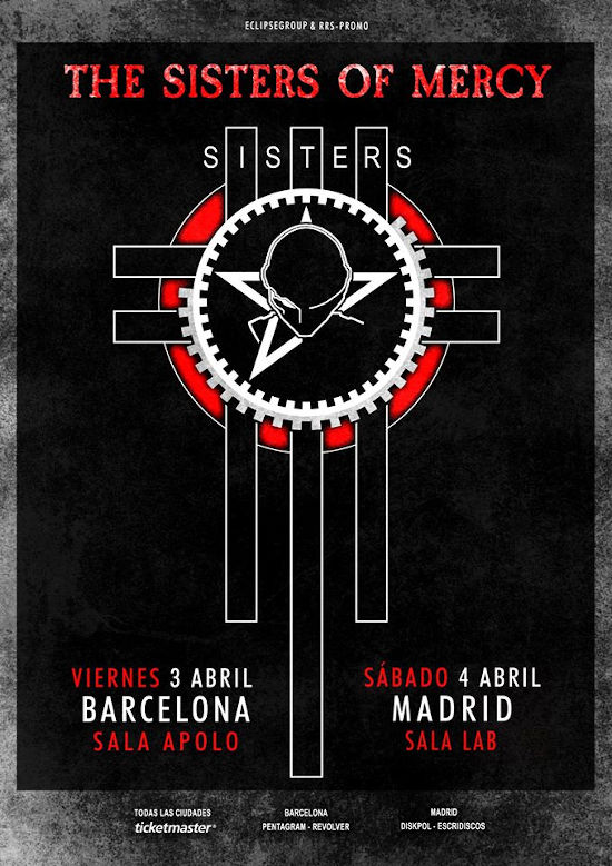 The Sisters of Mercy en Madrid