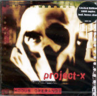 "PROJECT-X ""MODUS OPERANDI"" (2CD (LTD. ED.))"