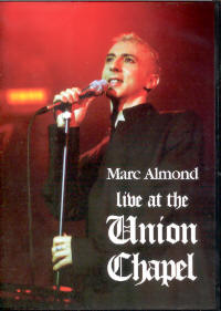 "ALMOND, MARC ""LIVE AT THE UNION CHAPEL"" (DVD)"