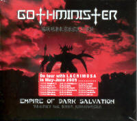 "GOTHMINISTER ""EMPIRE OF DARK SALVATION"" (CD)"