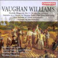 VAUGHAN WILLIAMS, R. - NORFOLK RHAPSODY, ETC CD