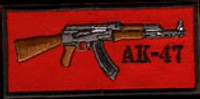 "AK 47 ""P-20"" (PATCH)"