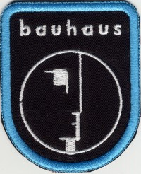 "BAUHAUS ""LOGO"" (PATCH)"