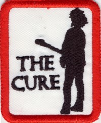 "THE CURE ""LOGO"" (PATCH)"