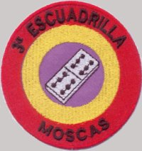 "3ª ESCUADRILLA MOSCAS SPANISH CIVIL WAR ""P-31"" (PATCH)"
