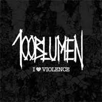 "100BLUMEN ""I LOVE VIOLENCE"" (7"" (LTD. ED.))"