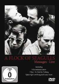 A FLOCK OF SEAGULLS - MESSAGES. LIVE DVD
