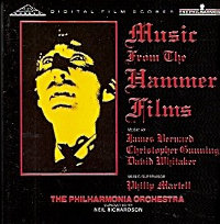"BERNARD, JAMES/GUMNNING, CHRISTOPHER, WHILTAKER, DAVID ""MUSIC FROM THE HAMMER HORROR FILMS"" (CD)"