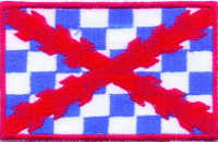 "CROSS OF BURGUNDY (CUADROS Y ROJO) ""P-50"" (PATCH)"