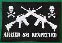 "ARMED SO RESPECT ""P-60"" (PATCH)"