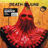 "DEATH IN JUNE ""ESSENCE! (BLACK)"" (LP (ED. LIM.))"