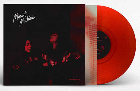 MINUIT MACHINE - INFRAROUGE (CLEAR BLOOD RED)(LP (LTD. ED.))
