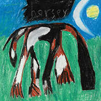 "CURRENT 93 ""HORSEY (SKY BLUE)"" (2LP (LTD. ED.))"