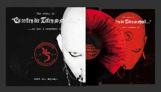 SOPOR AETERNUS & ENSEMBLE OF SHADOWS - THE STORY OF 'ES REITEN DIE TOTEN SO SCHNELL' (SPLIT COLOUR/SPLATTER)(LP (LTD. ED.))